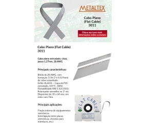 Cabo Plano (Flat Cable) - 3011