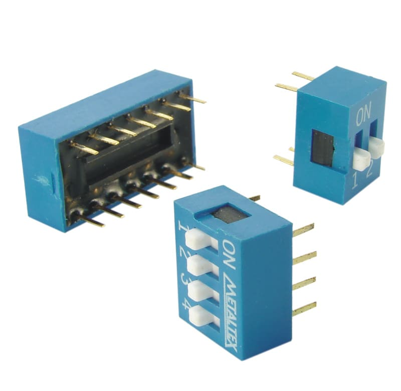 DS - Dip switches 180 graus