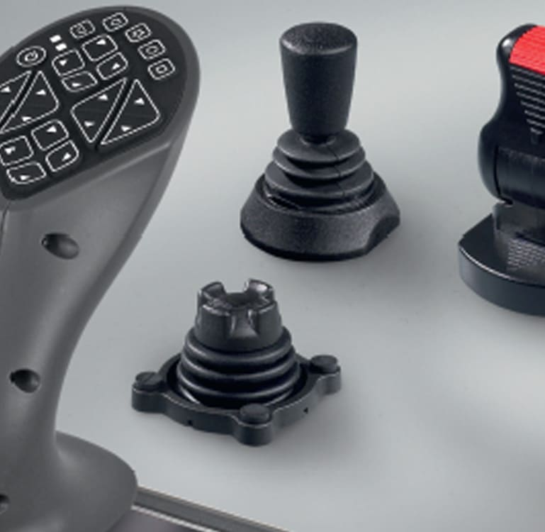 Joysticks - Joysticks industriais